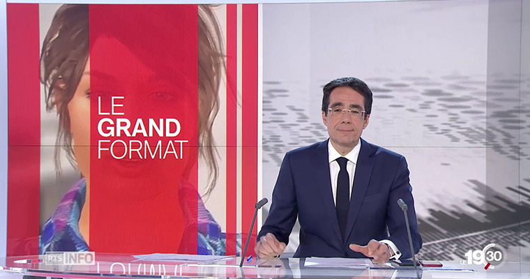 Jobeo passe au Journal 19h30 de la RTS
